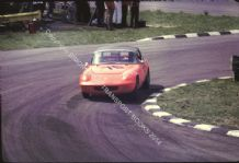 "Lotus Elan. Andre Wicky ? at speed Monza maybe 1968. 10x7"" colour photo"